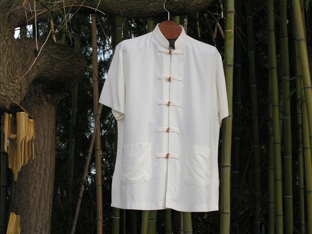 chemise en lin et coton col mao v tements chemises homme. Black Bedroom Furniture Sets. Home Design Ideas