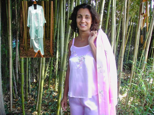 Nightwear ensemble (3 pieces)