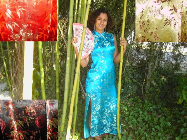 Long Chinese dress (adult)