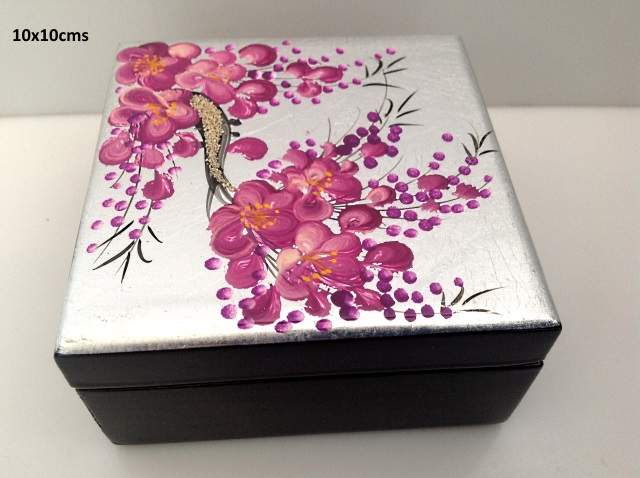 laque bo tes bijoux petites bo tes carr es les couleurs du vietnam la boutique de l. Black Bedroom Furniture Sets. Home Design Ideas