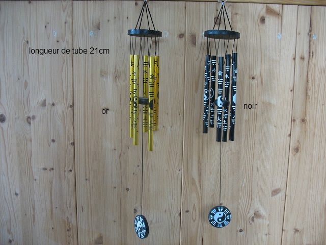 Carillon ying yang petit mod le carillons et mobiles les couleurs du vietnam la - Carillon a vent exterieur ...
