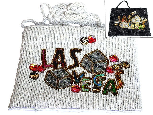 Las Vegas beaded bag (model 2)