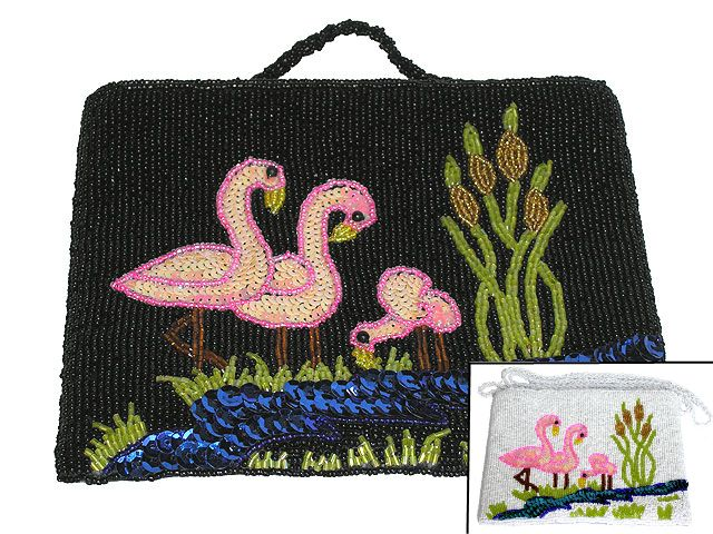 Las Vegas beaded bag (model 1)