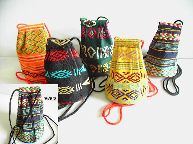 Petite bourse en tissu ethnique sacs et porte monnaie Porte monnaie en tissu