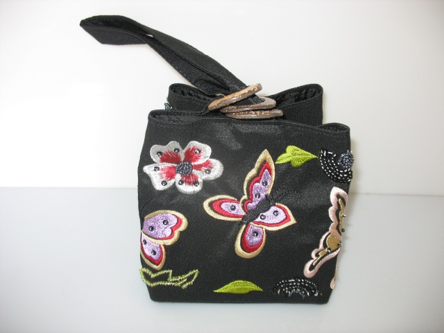 Three-ring bag (black)