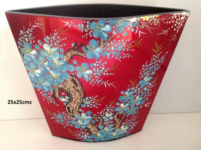laque vases en laque les couleurs du vietnam la. Black Bedroom Furniture Sets. Home Design Ideas
